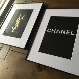 Chanel and YSL authentic shopping bag free…